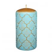 Turquoise Marokko stompkaars 130/70