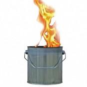 Vuurblik schitterend brandende fakkel voor tuin - terras en evenement