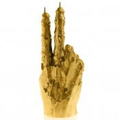 Goud Zombie Hand PEACE