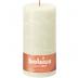 Bolsius ivoor rustiek stompkaars 200/100 (125 uur) Eco Shine Soft Pearl