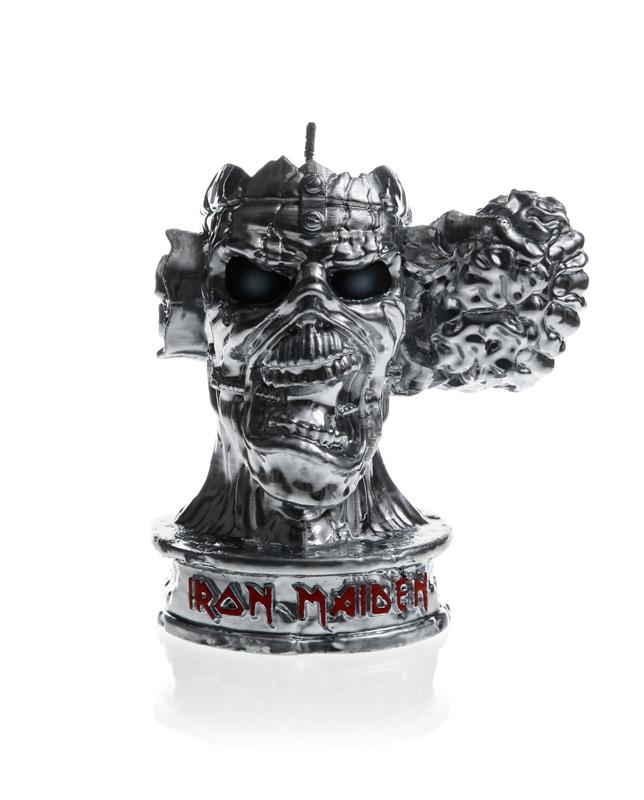 Iron Maiden fan kaarsen